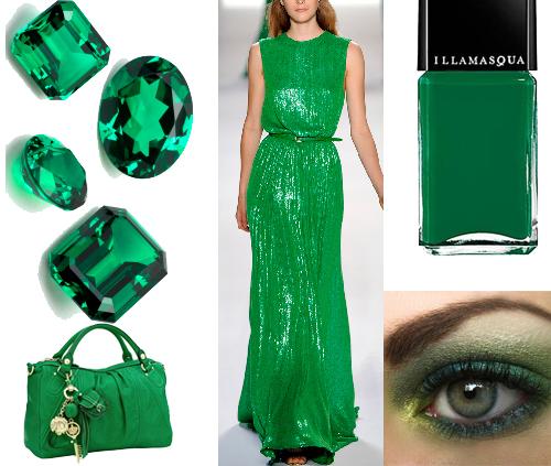 Verde esmeralda el color de 2013 las carries pisan fuerte for Como hacer color verde