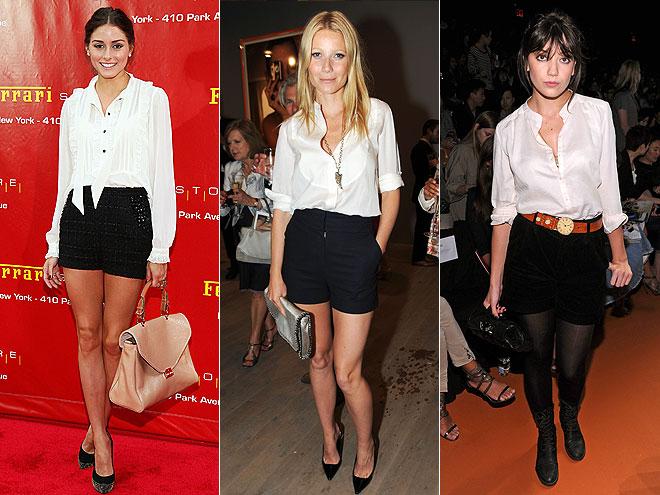 shorts negros_blusa blanca